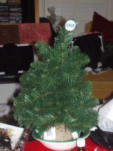 2007 Xmas tree naked!