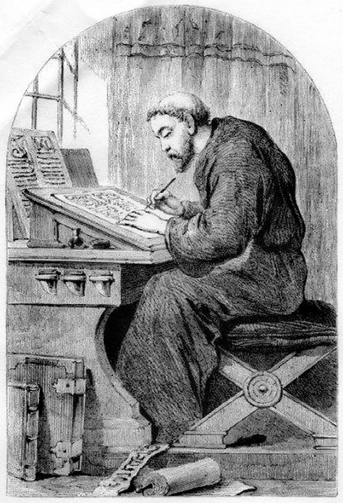 How it feel sint he middle of writing. You've taken a vow and you might never get laid again.