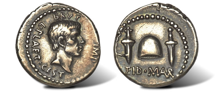 The-Immortal-Ides-of-March-Denarius-Coin