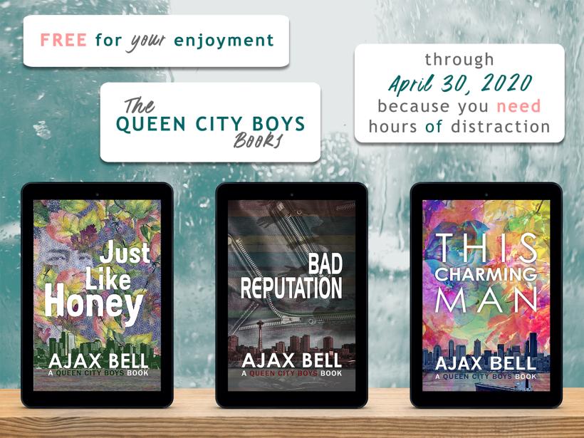 All Queen City Boys books free through April 30, 2020